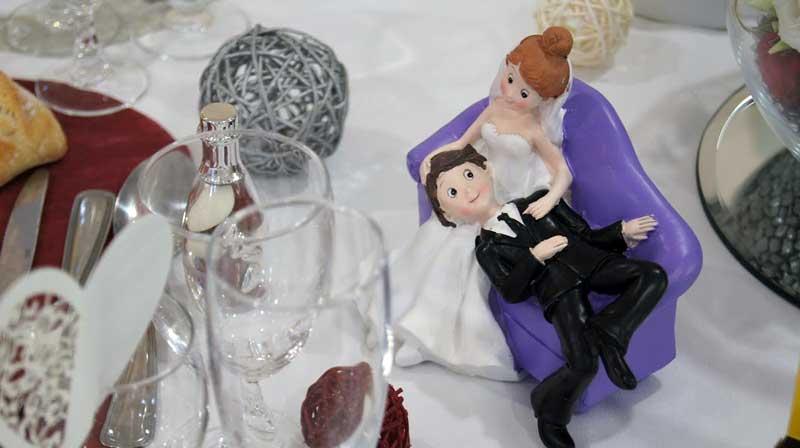 table mariage dinard