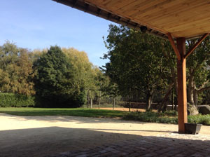 Jardin du domaine mariage300